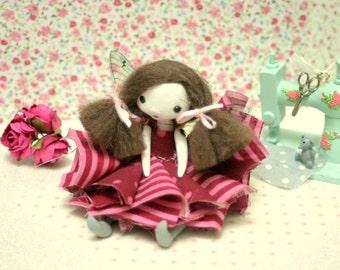 Little OOAK articulated fairy doll