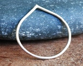Silver Pointed Ring - Peak Collection
