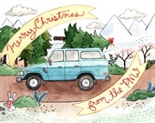 Merry Christmas from the PNW Greeting Card