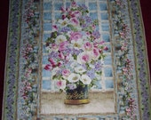 "Wilmington Prints ""Breath of Spring"" Handmade-Quilt-Made in USA by MJ Quilts-Free Shipping"