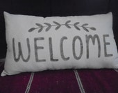 Lumbar WELCOME Pillow
