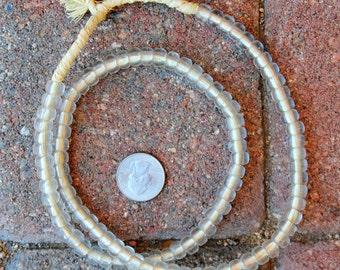 Czech Beads: Transparent Clear (6x9mm)