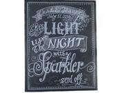 Chalkboard Art Sign - Sparkler Chalkboard - wedding Sign