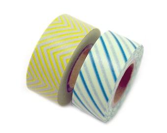 MASTE office space duo Japanese masking tape set - set of 2 washi tapes - Japanese washi tape