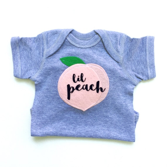 Lil Peach Baby Gift Baby Clothes Georgia Peach Baby Girl