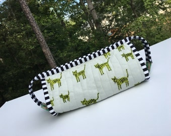 Zippered Pouch Sew Together Bag Travel Cosmetic Bag Ready To Ship