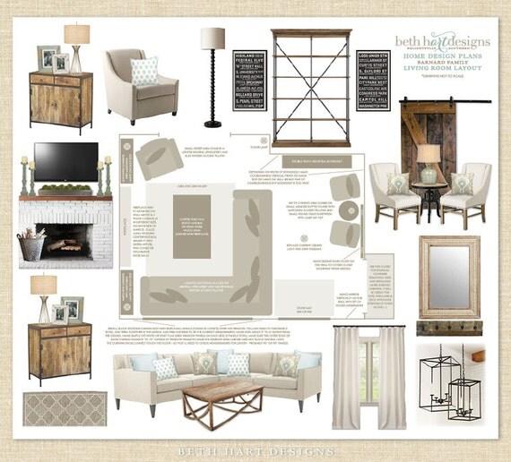Custom Virtual Home Interior Design Plans E Design Services Per Room Home Decorating