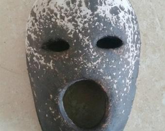 Obvara Ceramic Mask wall hanging sculpture