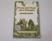 Vintage An I Can Read Book - Frog and Toad are Friends Large Print Illustrated Paperback