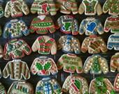 2 Doz. Ugly Christmas Sweater Cookies