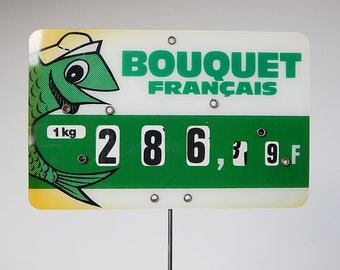 french price label