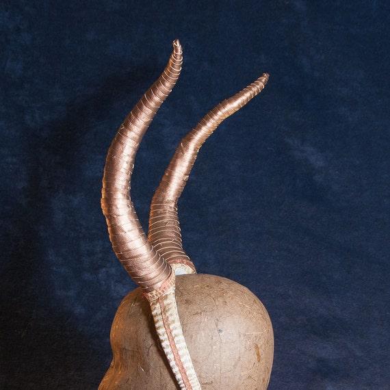 Bronze Antelope Horn Headband