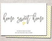 We have moved card: PRINTABLE (Home Sweet Home new address card)