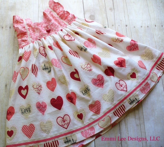 Girls Valentine Dress