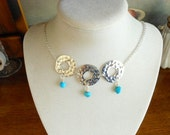 SPECIAL ORDER For ROSIE  Sleeping Beauty Turquoise Necklace and Earrings