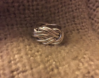 Love Knot Ring part 2 in sterling silver