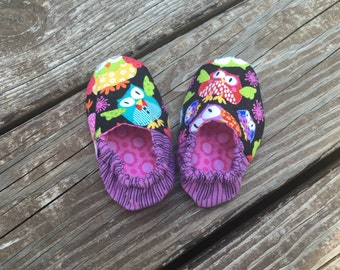 Reversible, Soft Baby Shoe, Size 0-3 Months