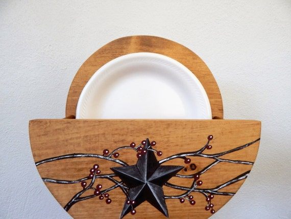 paper plate holder