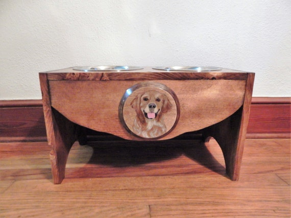 dog bowl stand,elevated dog feeder,pet supplies,dog lovers,elevated dog bowls,golden retriever lover,custom dog feeder,dog bowls