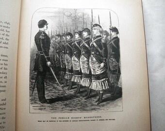 1800s Sins of New York Police Gazette Book 1930 Edward Van Every Illustrated