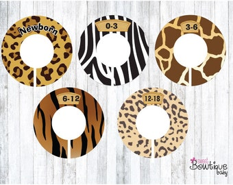 jungle closet dividers