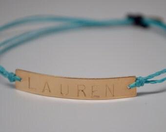 Name bracelet, Child's Name Bracelet, Mommy Bracelet, Henry