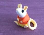 Sitting Candy Corn Rat