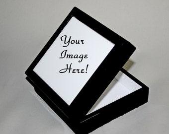 Personalized Music Box Trinket Box Keepsake Box Jewelry Box Boho Chic Customized Mandala Unique Gift For Her Sacred Geometry Kaleidoscope
