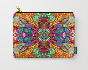 Cheers art print  carry all pouch