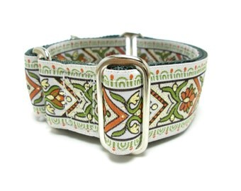 """Houndstown 1.5"""" Strawvine Collar, Martingale or Buckle, Any Size"""