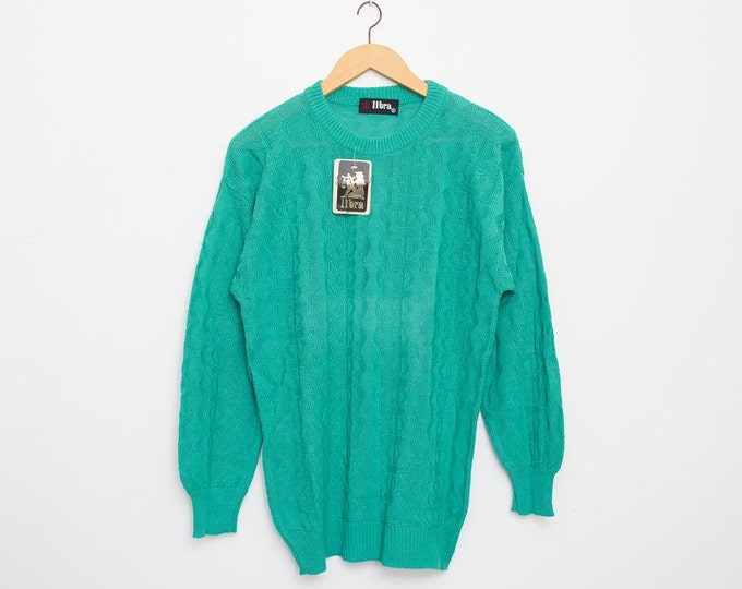 sweater green deadstock oversized sweater