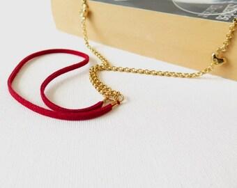 Eyeglasses Leather Chain, Eyeglasses Holder, Sunglasses Chain, Gold tone  Reading Glasses Holder, Gift Idea, Gift For Mom, Eyewear necklace