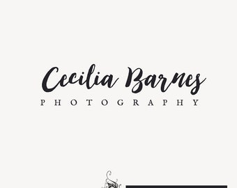 Premade Logo, for Photographers, Bloggers, Shop Owners, Easy logo quick turnaround