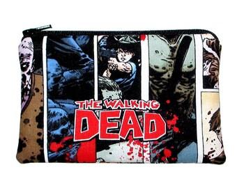 50% 0ff Sale - The Walking Dead Zombies Zipper Pouch - Ready to Ship