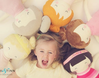 NEW Pillow dolls BLONDES keepsake gift OOAK ready to ship