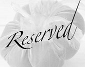 RESERVED for Liza - Baby Pink special order
