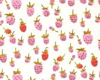 Heather Ross Briar Rose berries lilac FQ or more OOP HTF