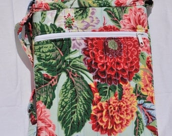 iPad case with adjustable strap, perky, bright summer case