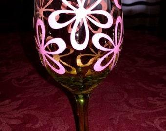 Beautiful 5 Petal 3D Flower - Wine Glass Design - SVG  Cutting File - Digital Download