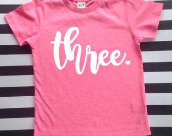 Birthday Shirt Girls Birthday Shirt Any Age First Birthday Shirt 2nd Birthday 3rd 4th 5th 6th 7th Birthday Shirt Kids Birthday Shirt