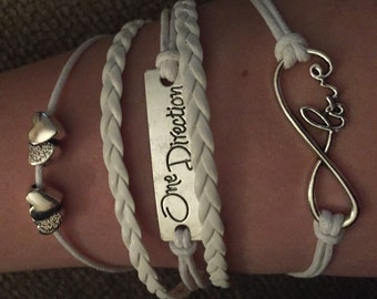 One Direction Infinity Bracelet
