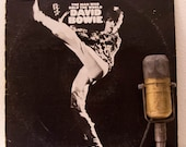 "ON SALE David Bowie Vinyl Record Album 1970s Classic Rock Pop Theatrical Pioneer LP, ""The Man Who Sold the World""(1972 Rca re-issue)"