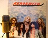 "Aerosmith (with Steven Tyler and Joe Perry) Vinyl Record Album 1970s Classic Rock Boston Debut LP ""Aerosmith"" (1973 CBS w/""Dream On"")"