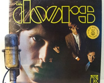 "ON SALE The Doors debut LP with Jim Morrison 1960s Classic Rock and Roll Acid ""The Doors""(Original 1967 Stereo w/""Break On Through"" Eks 7400"