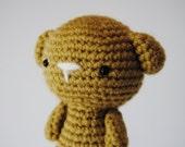 Amigurumi Dog, hand-crocheted toy, stuffed toy, ready to ship