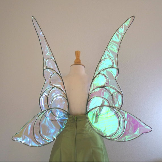 how to make tinkerbell wings cosplay
