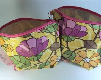 OOPSIE- Sock Sized Floral Bag