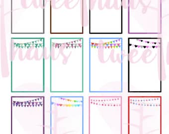Printable Special Occasion Boxes for the MAMBI Happy Planner