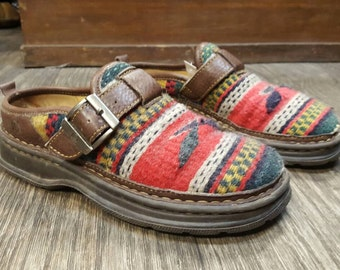 BORN Southwestern Sandals