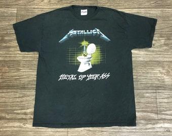 """1994 Metallica """"Metal Up Your Ass"""" Shirt"""